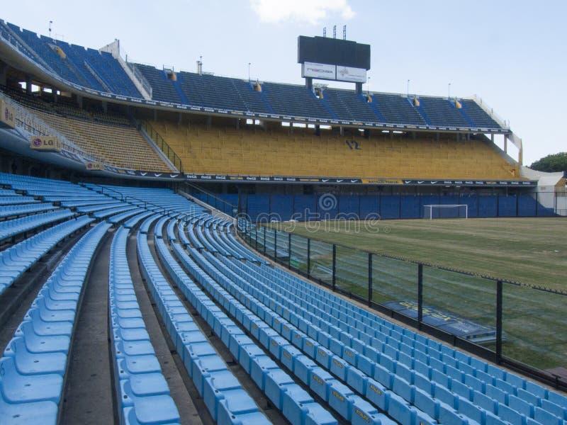 Stadion Boca Juniors La Bombonera Barrio La Boca Buenos Aires Argentinien Latein-Amerika Südamerika nett lizenzfreie stockfotos