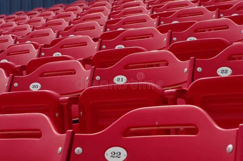 stadion för 21 baseballplatser royaltyfria bilder