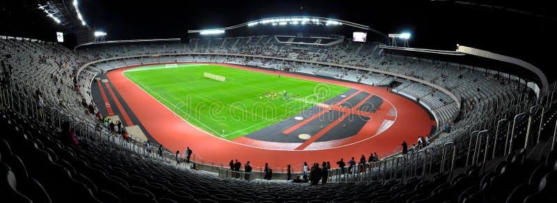 Stadion för Cluj arenafotboll, Rumänien arkivfoto