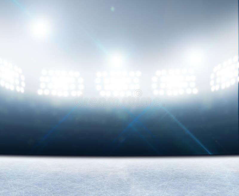 Stadion för isisbana royaltyfri illustrationer