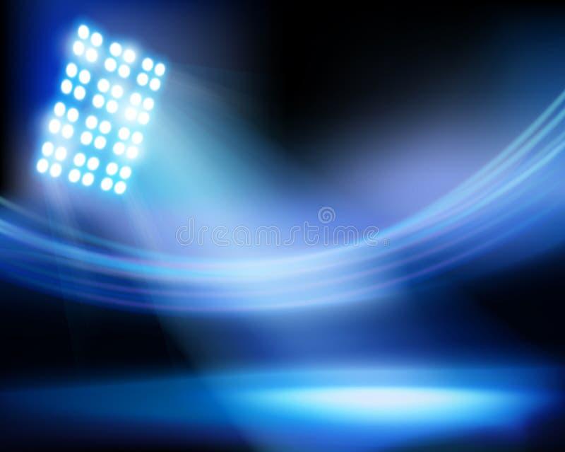 Stadion för matchen också vektor för coreldrawillustration vektor illustrationer