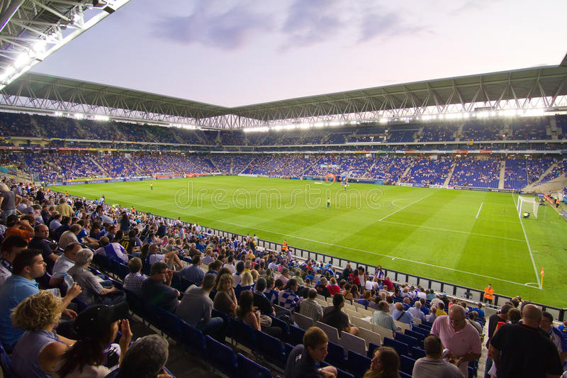 Stadion för RCD Espanyol royaltyfria bilder