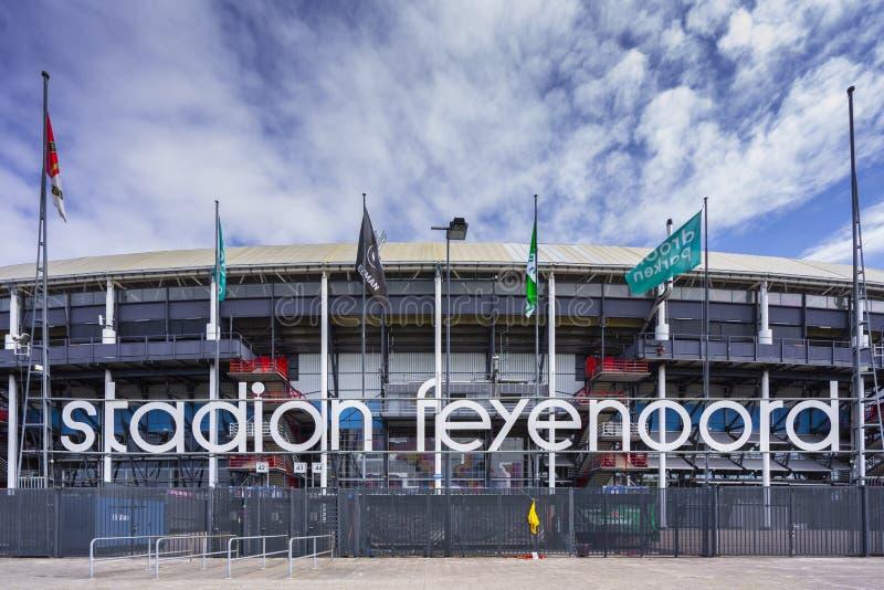 Stadion Feijenoord Rotterdam stock images