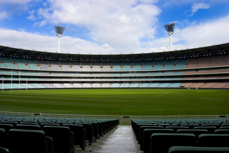 stadion futbolowy pusty obraz royalty free