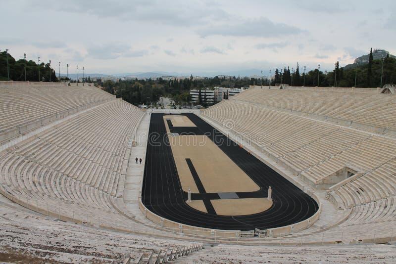 Stadion i Aten arkivbild