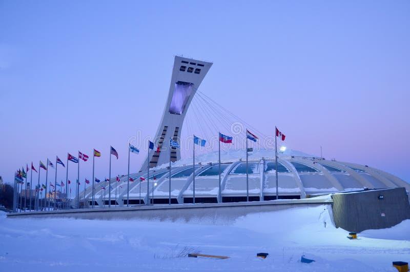 stadion olimpijski montrealskiego obrazy royalty free