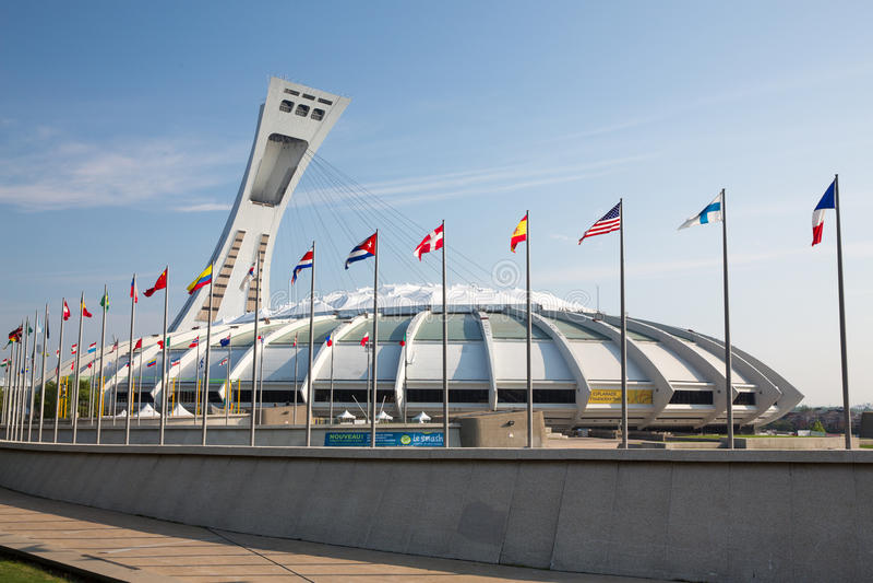 stadion olimpijski montrealskiego obraz stock