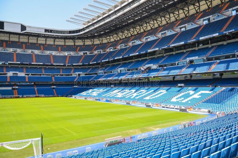 Download Stadion Santiagos Bernabeu Von Real Madrid, Spanien Redaktionelles Stockfotografie - Bild von madrid, klumpen: 96931392