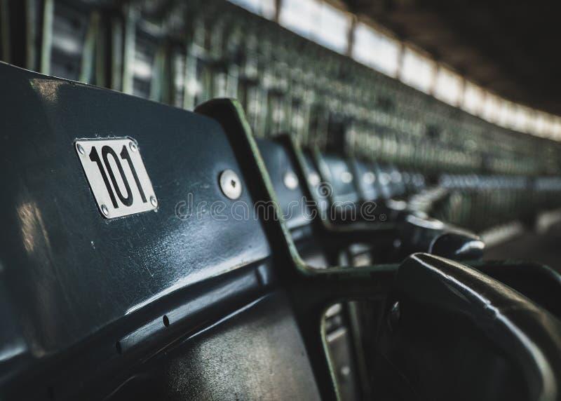 Stadion Seat 101 royalty-vrije stock fotografie