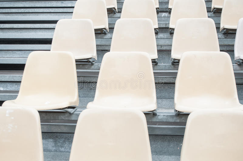 Stadion setzt Ausrichtung lizenzfreie stockfotografie