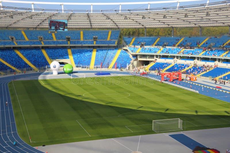 Stadion Slaski, Poland royalty free stock images
