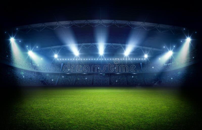 Stadion tolkning 3d vektor illustrationer