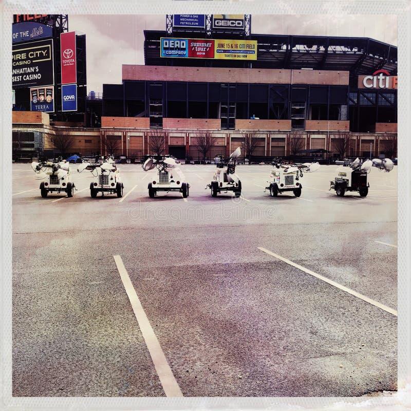 Stadion van het team van het New York Metshonkbal royalty-vrije stock afbeelding