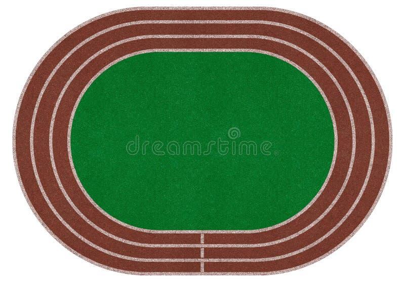 Stadionfält, arena royaltyfri illustrationer