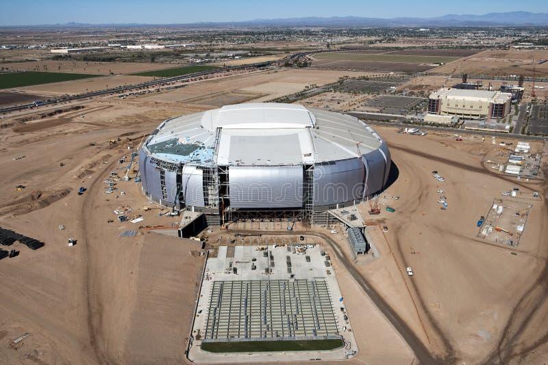 Stadionkonstruktion arkivfoton