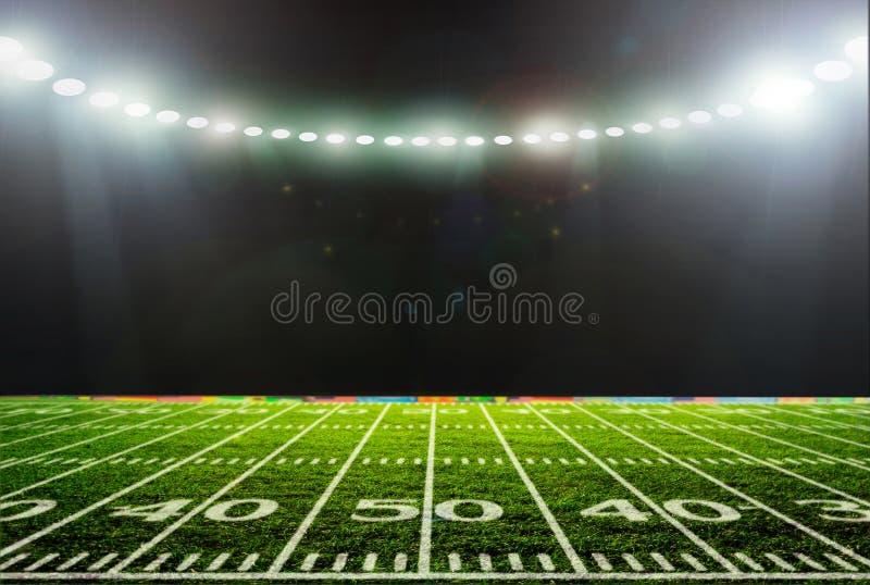Stadionnacht royalty-vrije stock fotografie