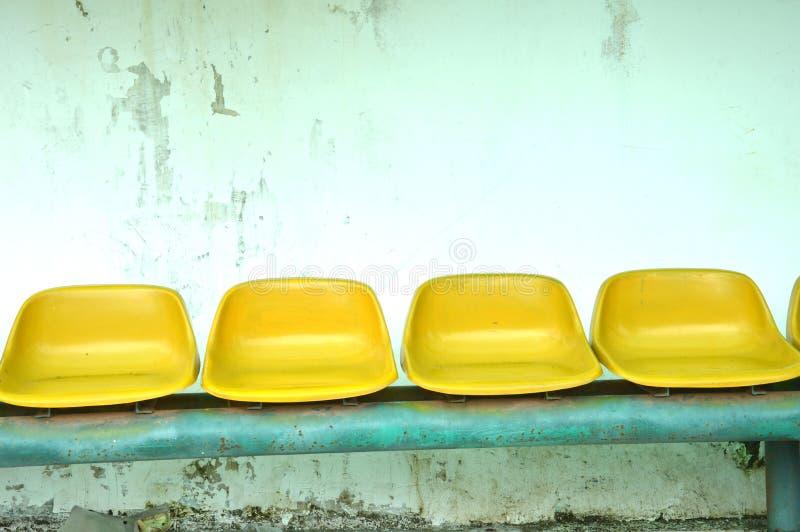 Stadionplatser royaltyfria bilder