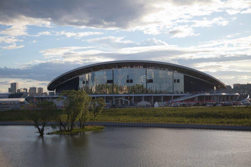 Stadionu futbolowego Kazan arena zdjęcie stock