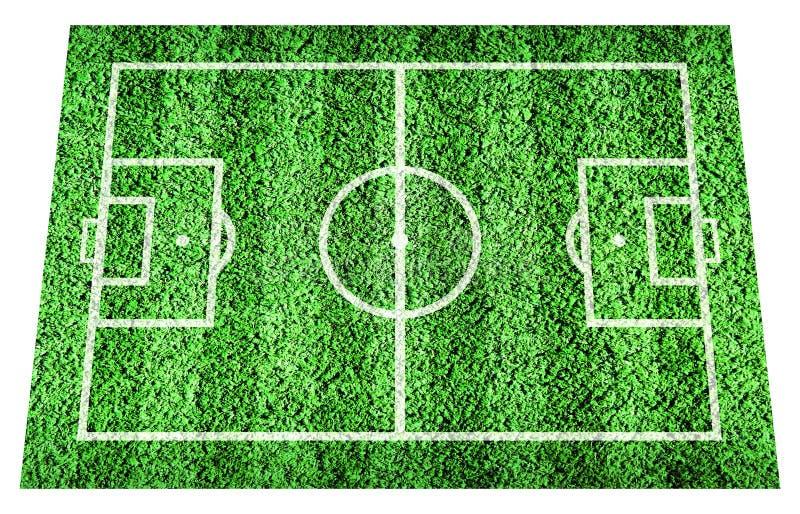 Stadionu futbolowego pole zdjęcie stock