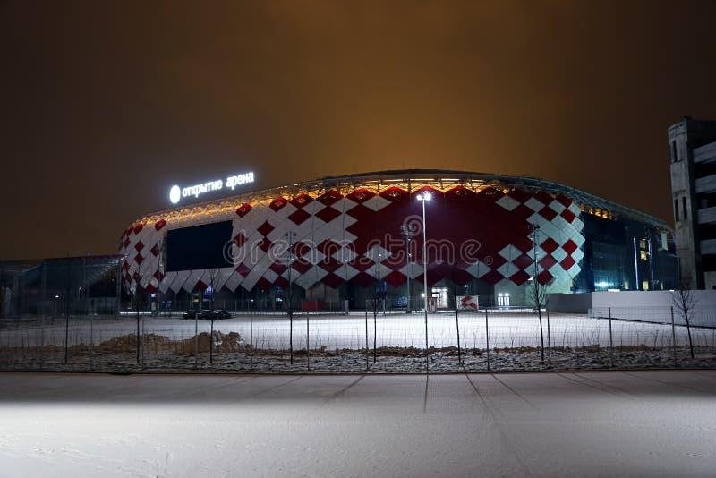 Stadionu futbolowego Spartak otwarcia arena fotografia stock