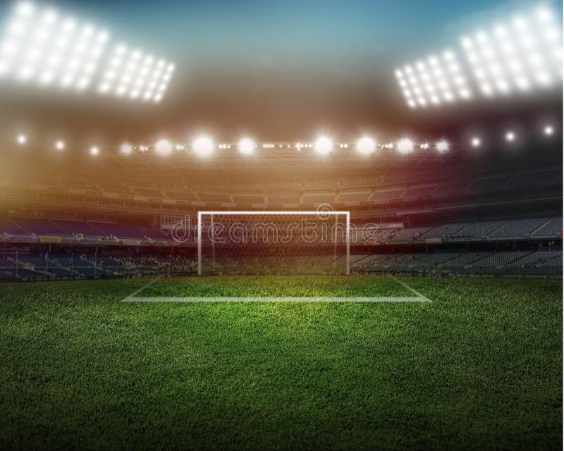 stadium lizenzfreie stockfotos