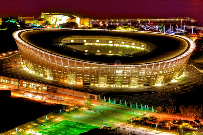 Download Stadium stock photo. Image of tonemapped, worldcup, night - 13537528