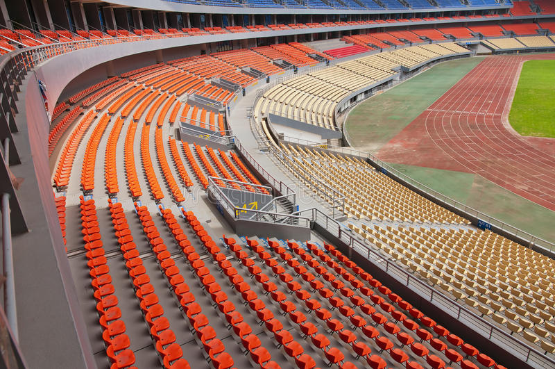 Download Stadium stock image. Image of runway, field, bleachers - 25219123