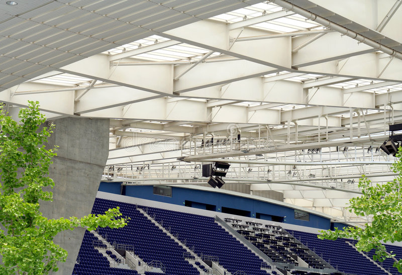 Download Stadium stock photo. Image of harmony, architectural, steel - 2589866