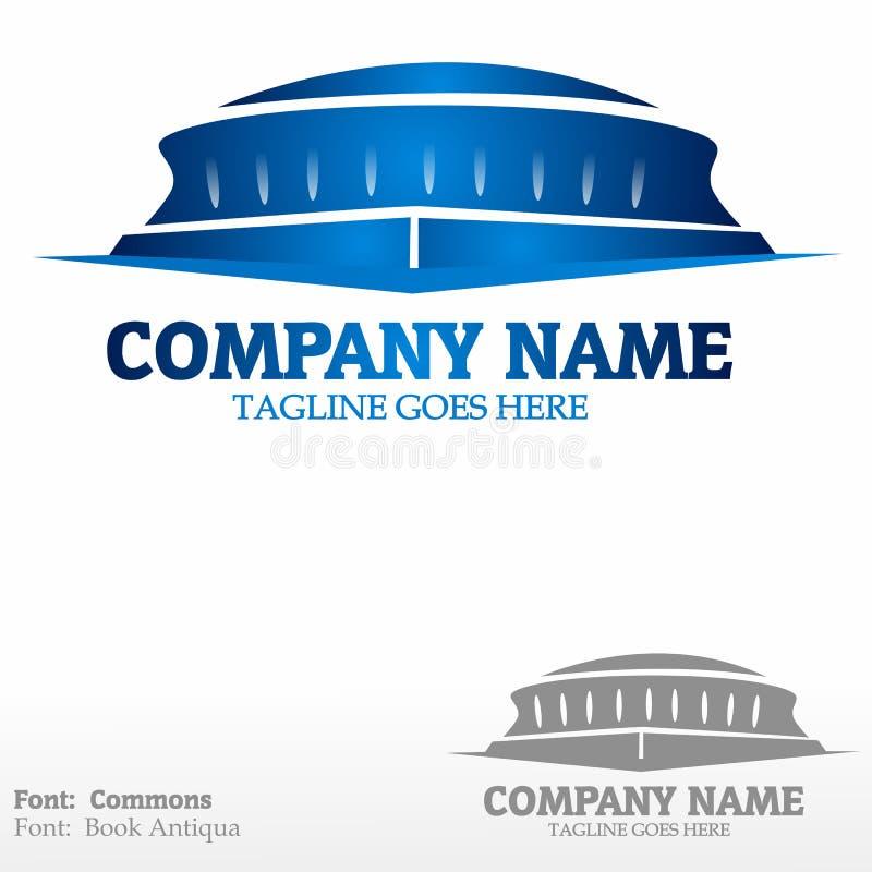 Stadium. Logo Please look at my other logos stock illustration