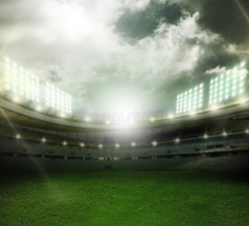 stadium stockfotografie
