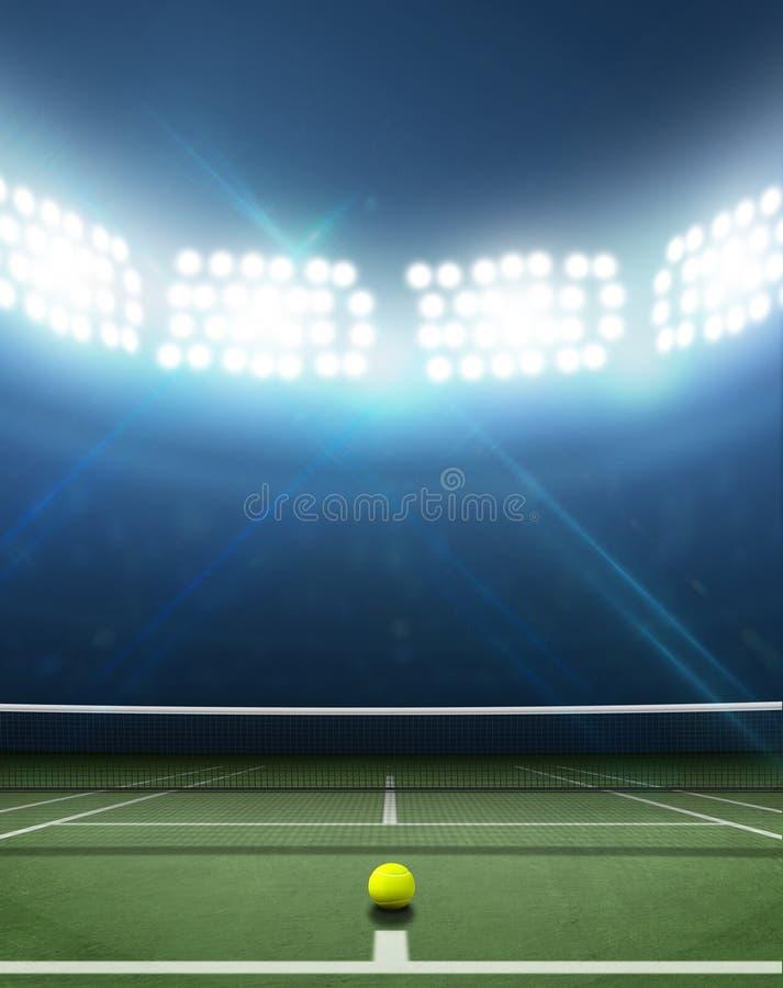Free Stadium And Tennis Court Royalty Free Stock Photo - 50948745
