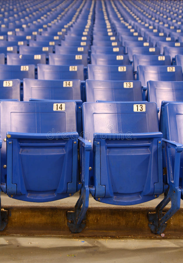Free Stadium/Arena Seats Stock Images - 25118414