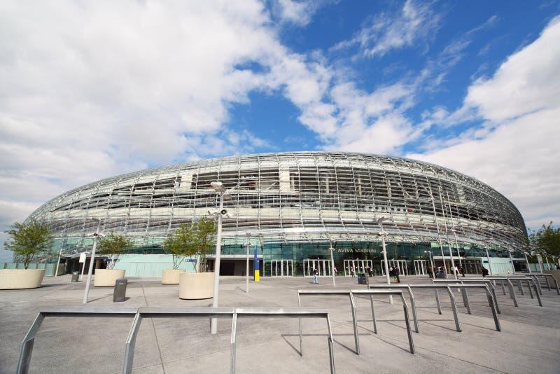 Stadium Aviva after repair stock image