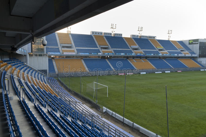 Stadium in Cadiz royalty free stock photos
