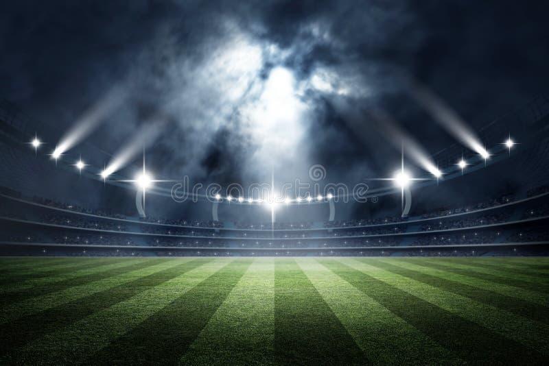 Stadium, 3d rendering zdjęcia royalty free