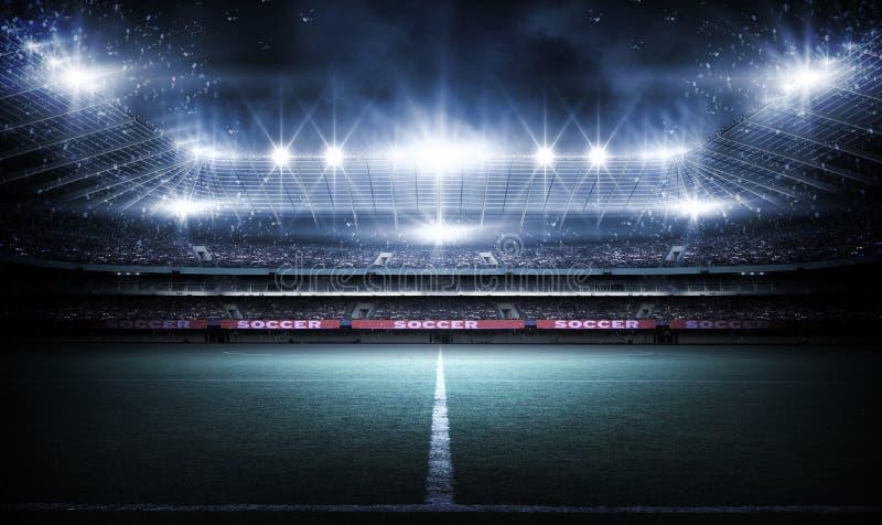 Stadium, 3d rendering obrazy royalty free