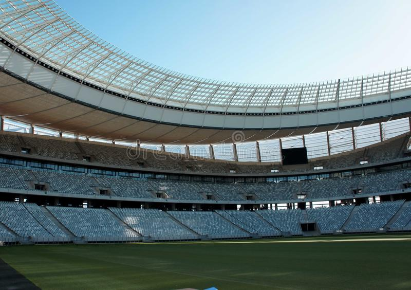 Stadium. Football Stadium in Cape Town, South Africa stock photos