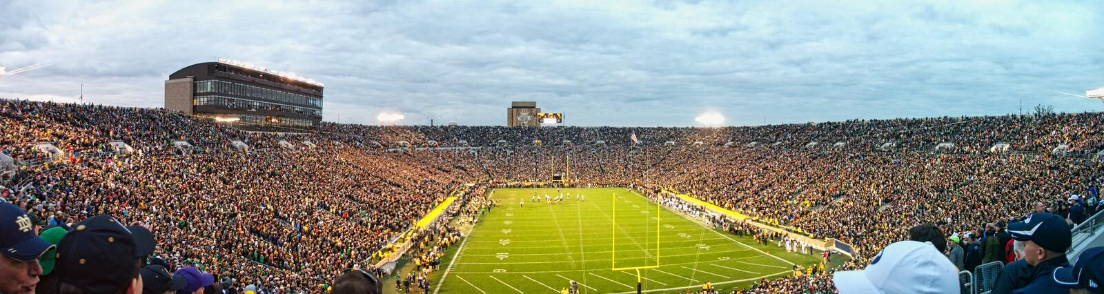 a stadium full of people royalty free stock images
