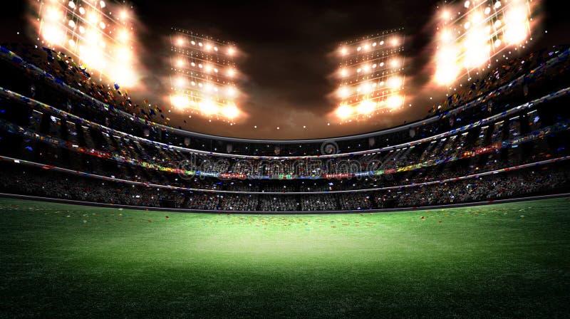 Stadium lekki 3d zdjęcie stock