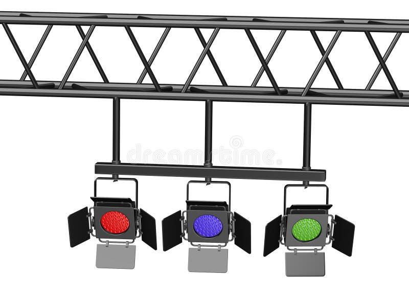 Download Stadium lichte kleur 3 stock illustratie. Illustratie bestaande uit illustratie - 29505153