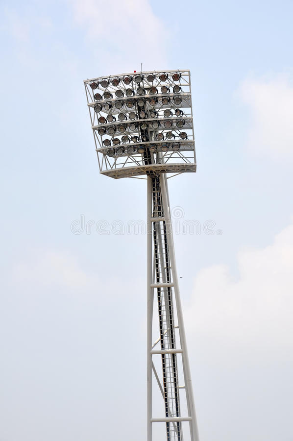 Stadium Light Royalty Free Stock Photo