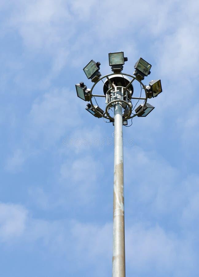 Download Stadium light pole stock image. Image of baseball, lamppost - 22007457