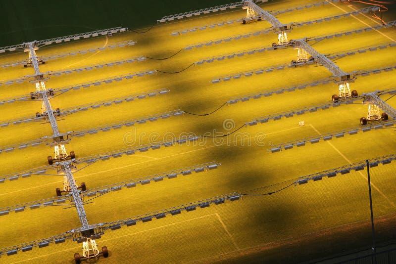 Download Stadium lighting stock photo. Image of sport, grass, light - 15398738