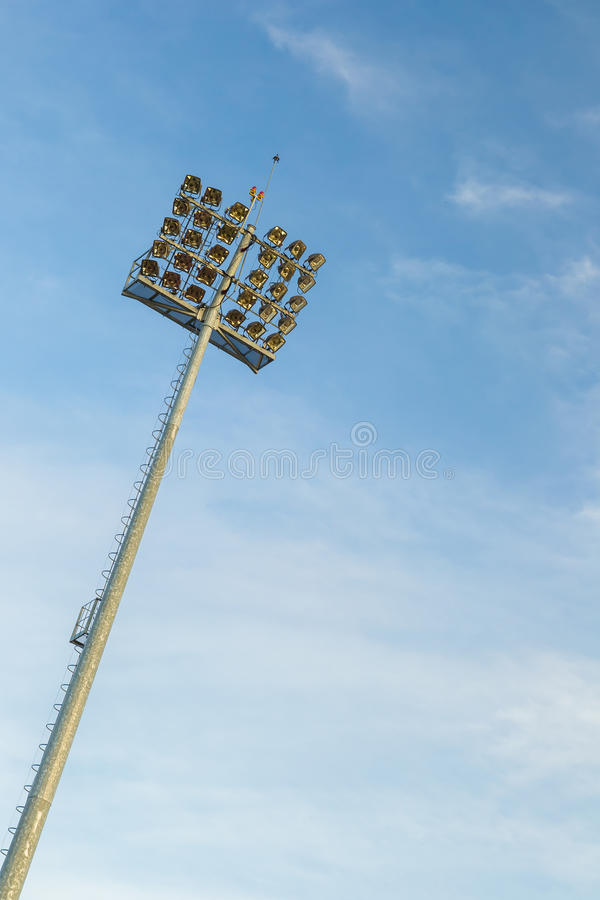 Stadium Lights Stock Images