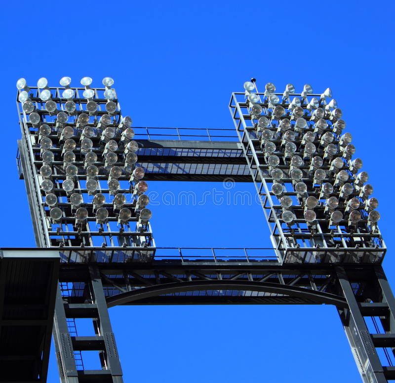 Football Stadium Night Lights: Stadium Lights Stock Photo. Image Of Sports, Stadium