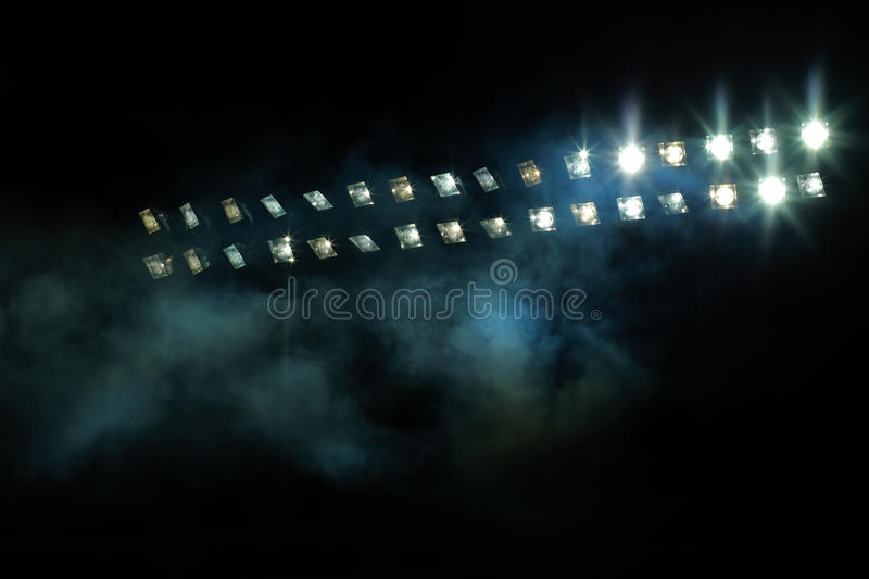 Stadium lights royalty free stock image