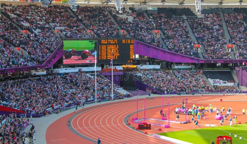 Stadium Londyn 2012 Paralympics zdjęcie royalty free