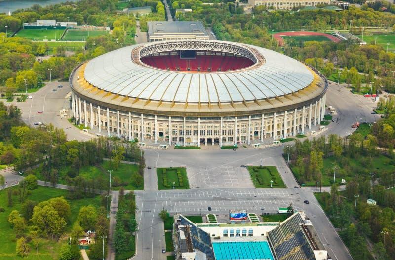 Stadium Luzniki przy Moskwa, Rosja zdjęcie royalty free
