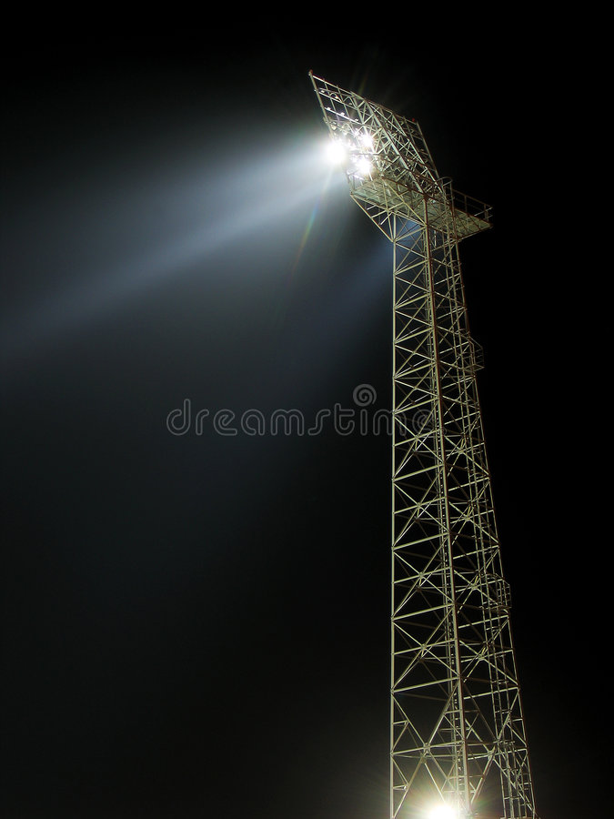 Download Stadium One stock image. Image of intense, electricity - 664863