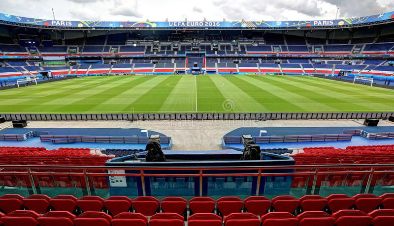Stadium Parc Des Princes Paris Editorial Photography Image Of Stadium Stade 83771492